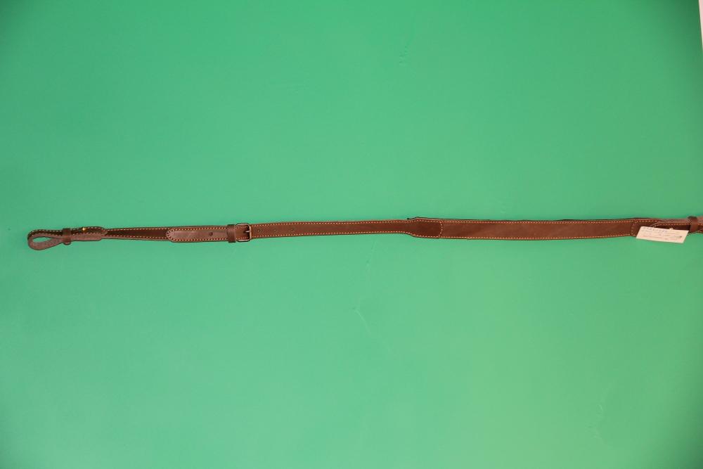 Ремень ружейный облегченный с вставксй из натуральной кожи
